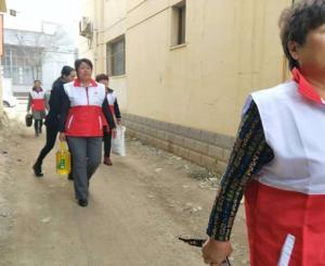 滦平县红十字会开展人道应急救助捐赠活动
