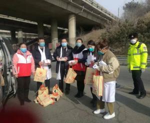 滦平县红十字会为抗击新型冠状病毒感染的肺炎疫情贡献力量